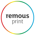 remous print logo